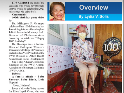 PUBLISHED ARTICLE by Lydia Solis