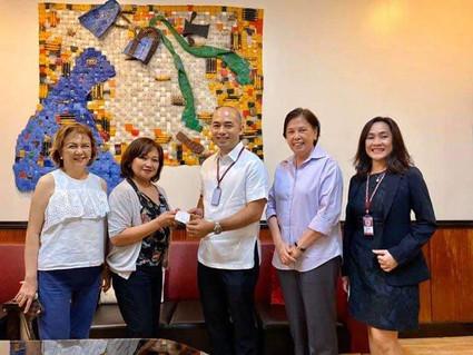 2019 PWUAASC donation to PWU
