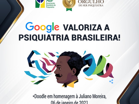 Google homenageia psiquiatria brasileira