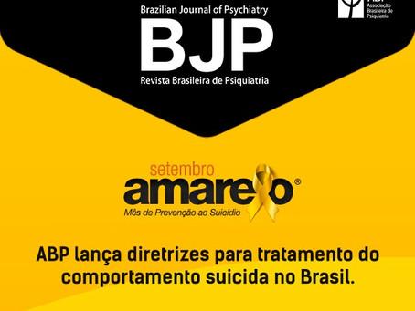 ABP lança diretrizes para tratamento do comportamento suicida no Brasil
