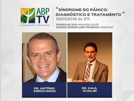 Síndrome do pânico é tema do próximo ABP TV