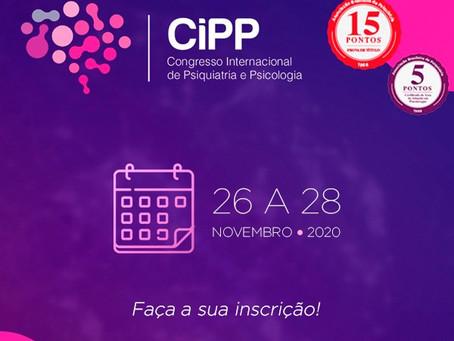 Participe do 1º Congresso Internacional de Psiquiatria e Psicologia - CiPP!
