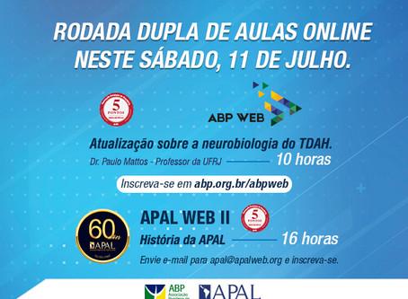 Rodada dupla de conhecimento: ABP Web e APAL Web amanhã, 11 de julho