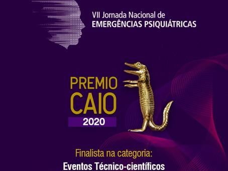 VII Jornada Nacional de Emergências Psiquiátricas é finalista do Prêmio Caio 2020