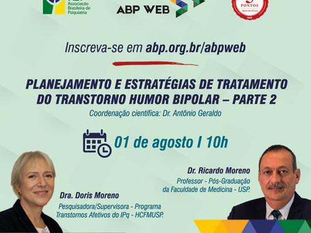 ABP Web continua sua aula sobre transtorno bipolar no próximo sábado