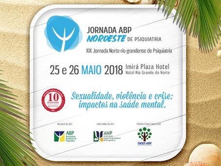 Começa hoje a XX Jornada ABP Nordestina de Psiquiatria: participe