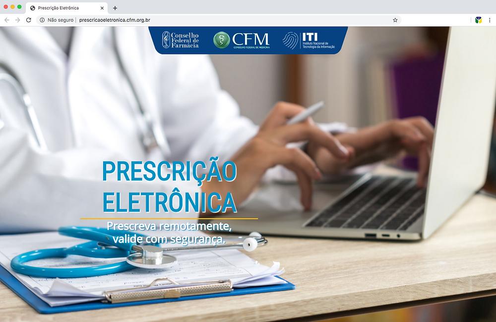 site prescrição eletrônica