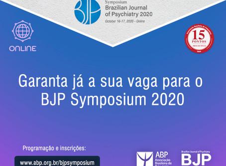 Garanta já a sua vaga para o BJP Symposium 2020