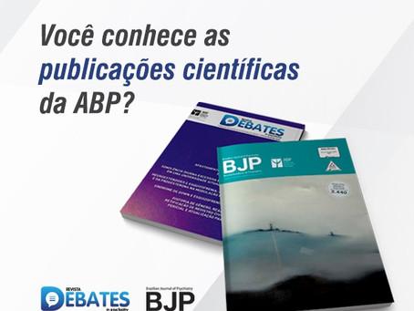 Você conhece as publicações científicas da ABP?