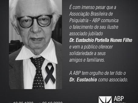 Nota de falecimento: Dr. Eustachio Portella Nunes Filho