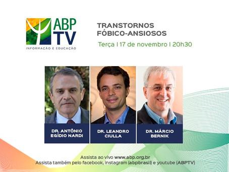 ABPTV debate transtornos fóbico-ansiosos
