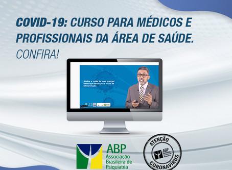 Covid-19: curso para médicos e profissionais da área de saúde. Confira!