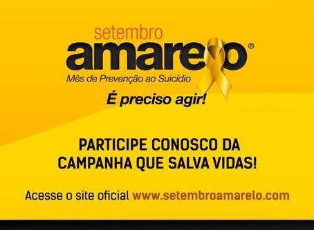 Setembro Amarelo®: participe conosco da campanha que salva vidas!