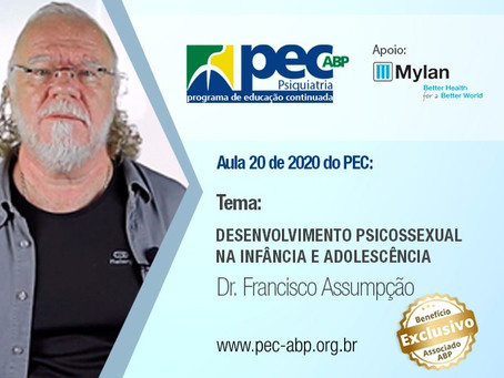 "Aula do PEC aborda ""Desenvolvimento psicossexual na infância e adolescência"""