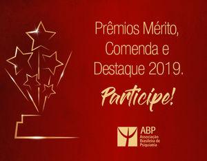 3c9c435c7 Prêmios Mérito, Comenda e Destaque 2019: participe!