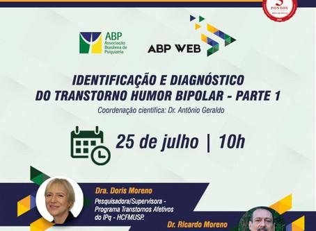 Transtorno bipolar é o tema da próxima aula do ABP Web, em 25/07!