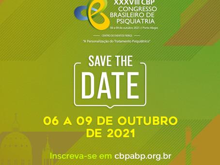 XXXVIII CBP em Porto Alegre será realizado em nova data: 06 a 09 de outubro