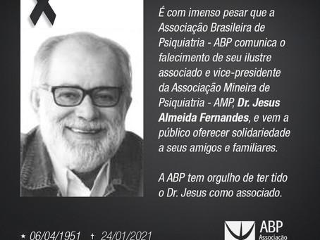 Nota de Falecimento: Dr. Jesus Almeida Fernandes