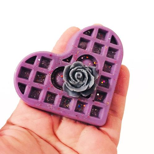 Violet Leaf & Flower Wax Melt,