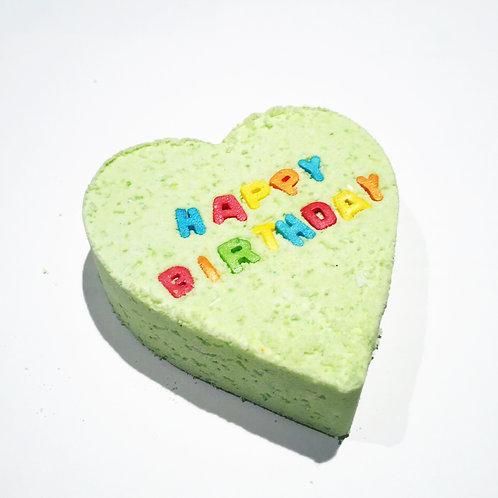 Custom Text Bath Bomb, Personalised Name, bath melt, Heart Bath Bomb, Fun Gift,
