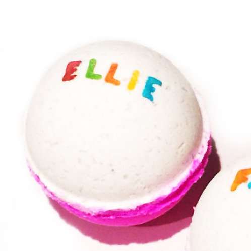 Name/ Date Personalised Bath Bomb, Fun Gift, Special Gift, Custom Made, Special