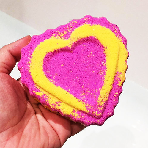 Heart of Love Bath Bomb