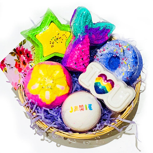 For Her Personalised Bath Bomb / Soap Gift Set