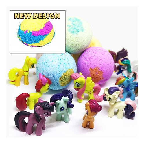 My Little PONY Bath Bomb TOY! 3.6 oz BOMB Surprise!
