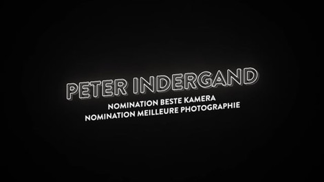 Prix du Cinéma Suisse - Peter Indergand