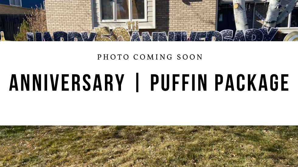 Anniversary | Puffin Package