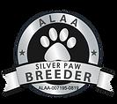 Big Tex LabradoodlesALAA Silver Paw Logo