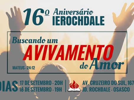 16 ANOS IEROCHDALE