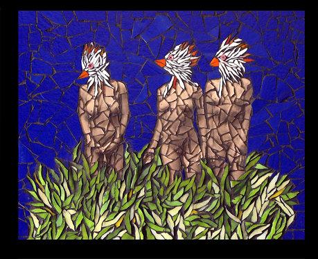 Three Bird Women