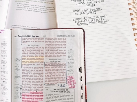 Five Tips for Studying Your Bible