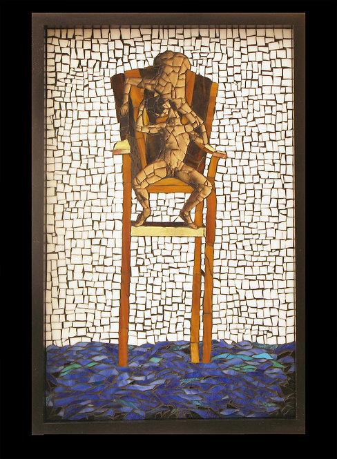 Kiss on Chair