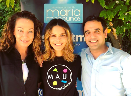 Podcasting with Maria Menounos& Dr. Karen Becker