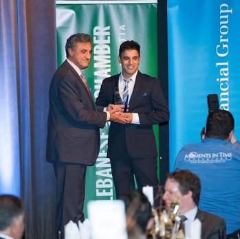 Rodney Habib receives award