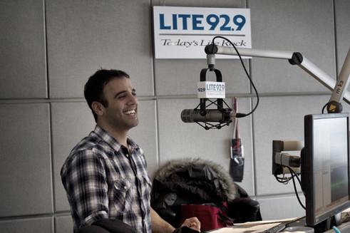 Rodney Habib Radio Studio