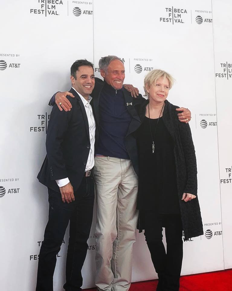 The Dog Doc Tribeca — with Marty Goldstein and Cindy Meehl at Tribeca Film Festival.