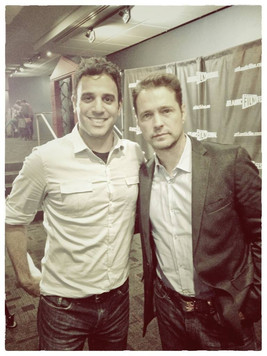 Rodney Habib and Jason Priestley