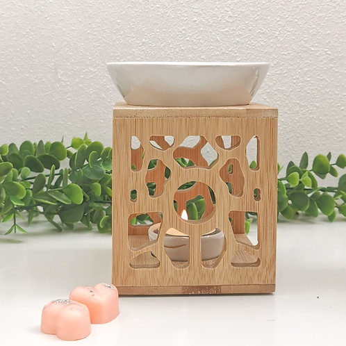 Bamboo burner