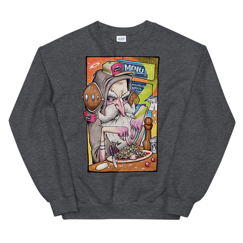 EXTRA MUSHROOMS Unisex Sweatshirt