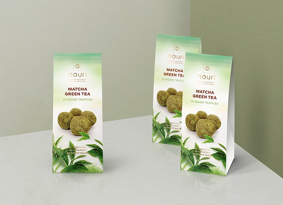 Matcha green tea (box of 10 truffles) x 8 boxes