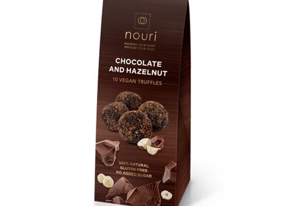 Chocolate & Hazelnut (box of 10 truffles)