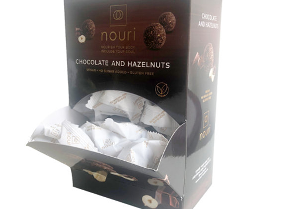 Chocolate & Hazelnut (box of 100 truffles)