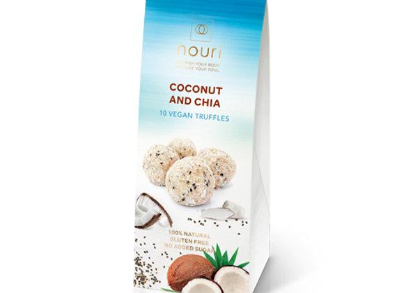 Coconut & Chia (box of 10 truffles)