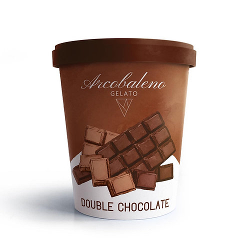 Сладолед Двоен Шоколад Arcobaleno 500мл