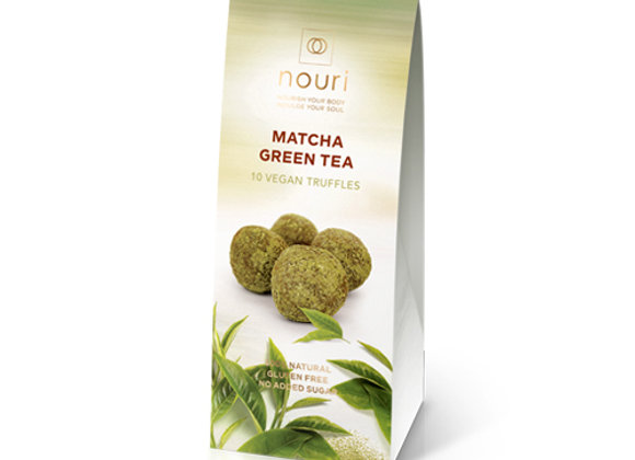 Matcha green tea (box of 10 truffles)
