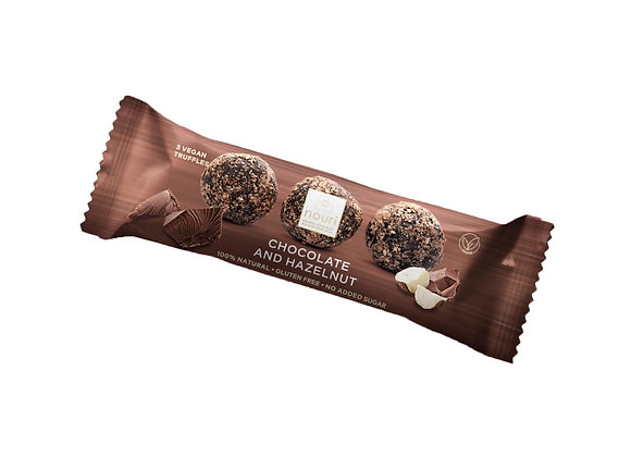 Chocolate & Hazelnut (pack of 3 truffles)