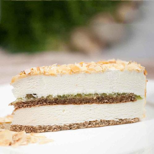 Сладоледена торта Френска ванилия със смокини (4 парчета)